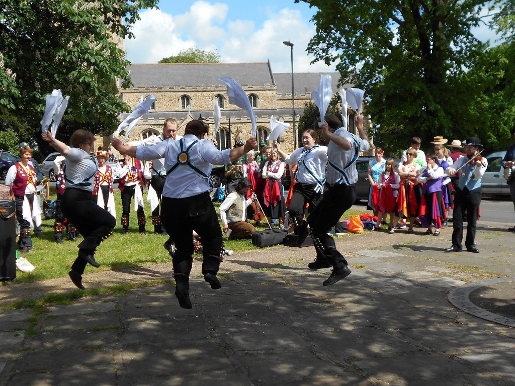 Granta Blue dancing at Littleport Day of Dance